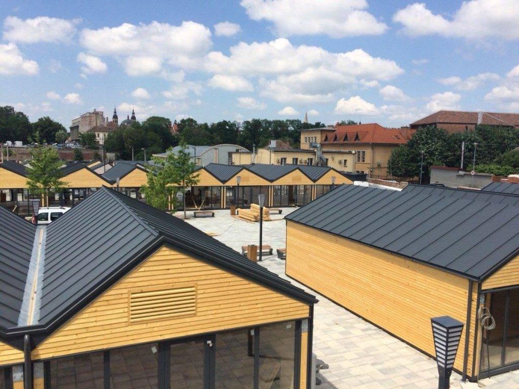 Highline Antracit – Centru comercial, Sibiu (RO)